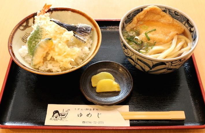 ミニ天丼定食